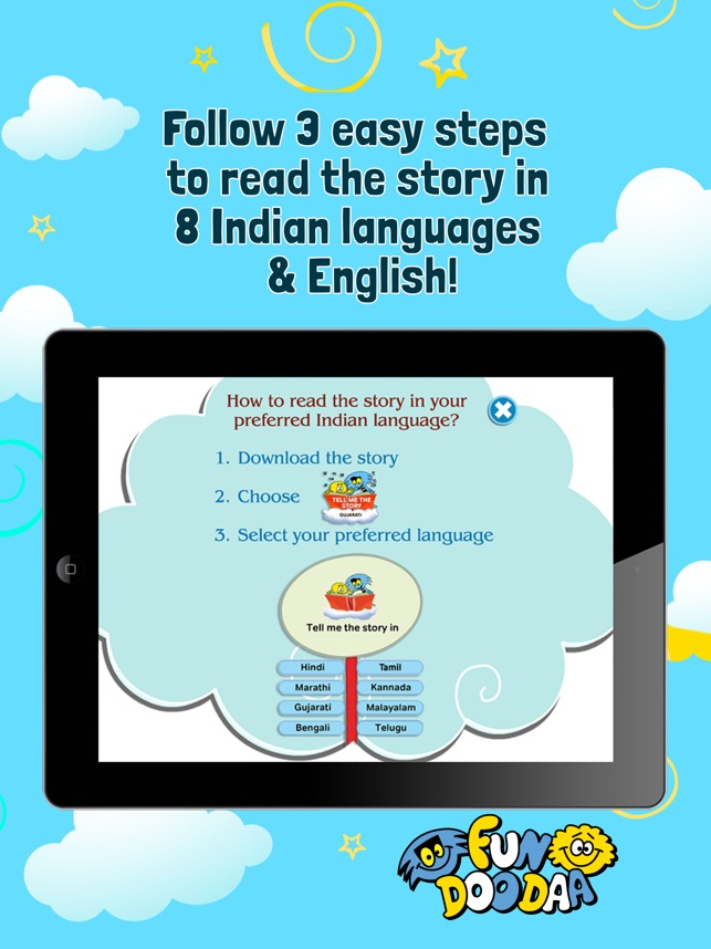FunDooDaa Books - for Kids on the App Store