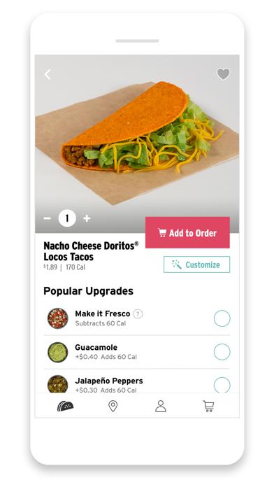 Taco Bell review screenshots