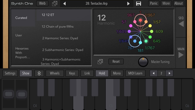 AudioKit Synth One Synthesizer screenshot-5