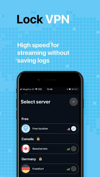 LockVPN Unlimited VPN & Proxy Screenshot