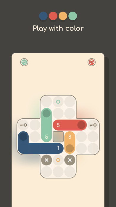 Coloristic 2 - puzzle screenshot #2