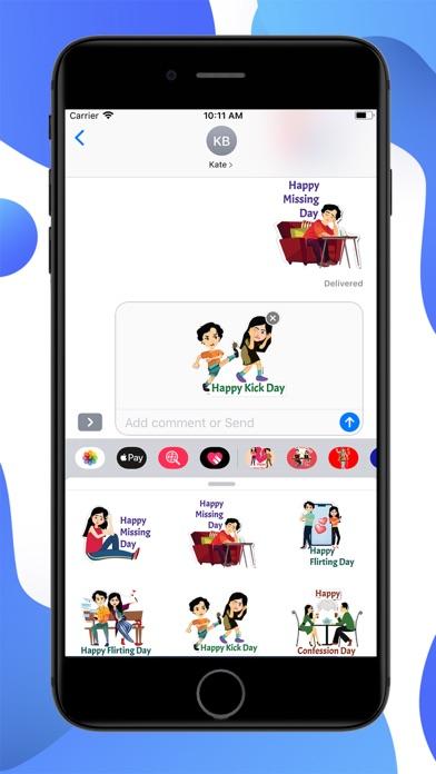 Post Valentine Special Sticker screenshot 3