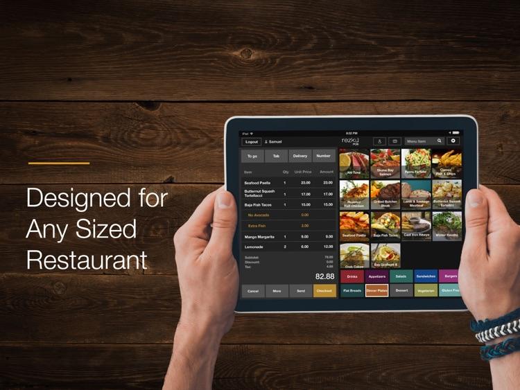 Rezku Restaurant POS System