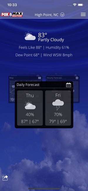 Fox8 Max Weather on the App Store
