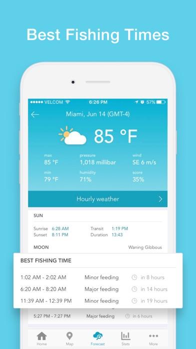 Fishing Forecast App: Fishbox Screenshot