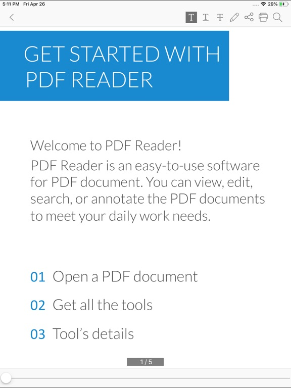 PDF Editor - document expert Screenshots