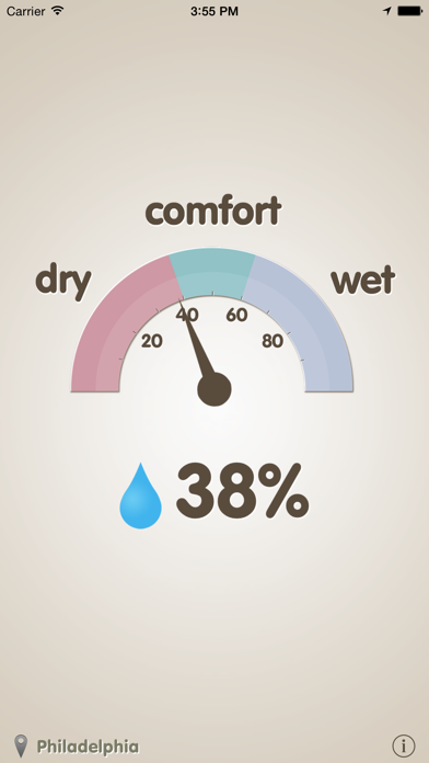 Screenshot #2 pour Hygrometer -Check the humidity