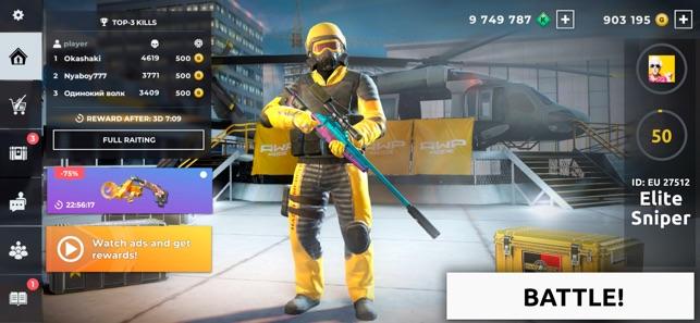 AWP Mode: Sniper game FPS