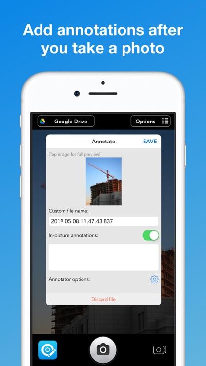 UploadCam - Camera for Work screenshot-3