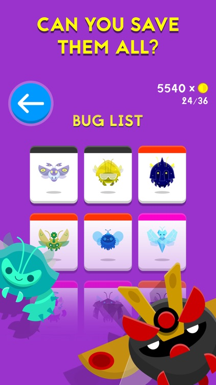 BugFall screenshot-2