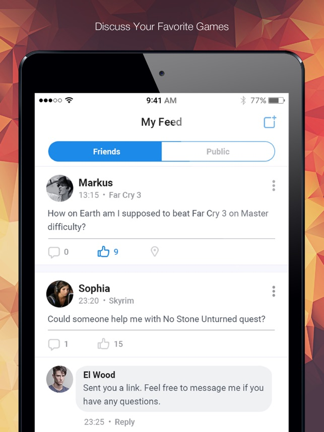 GameTree – Find Gamer Friends on the App Store