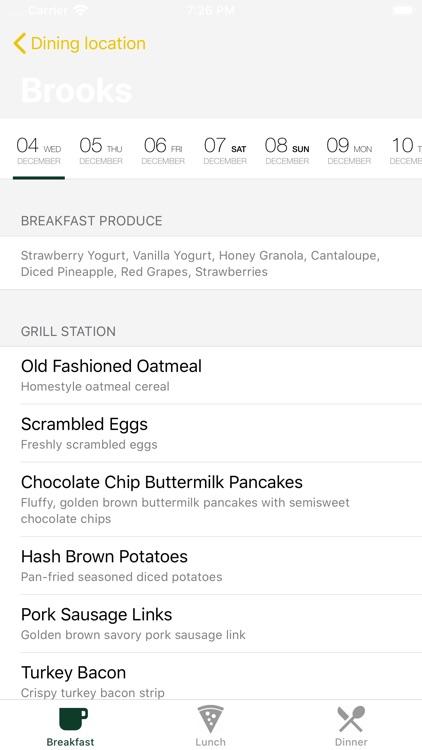 What to eat around screenshot-4