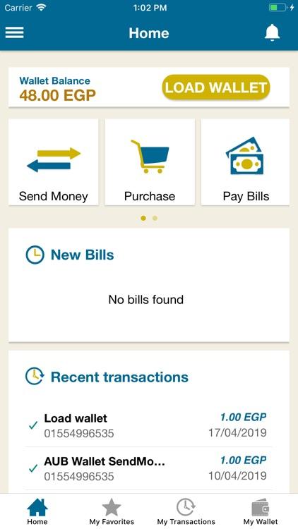 AUBE Mobile Wallet-e-Pocket