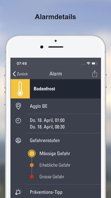 Wetter-Alarm: Schweiz screenshot-3