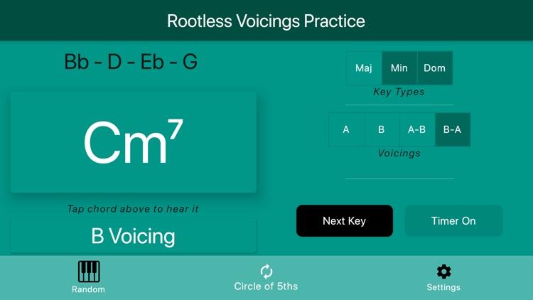 Rootless Voicings screenshot-7