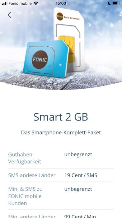 FONIC mobileScreenshot von 4