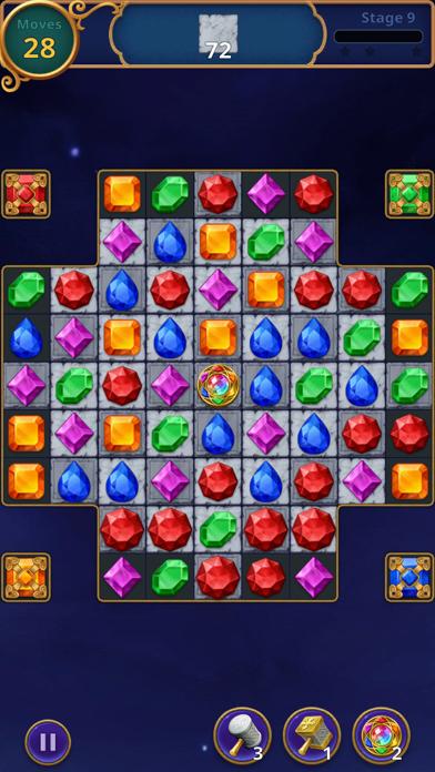 Jewels Magic: Mystery Match3 screenshot 6