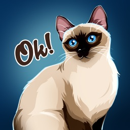 Siamese Cats Emoji Sticker