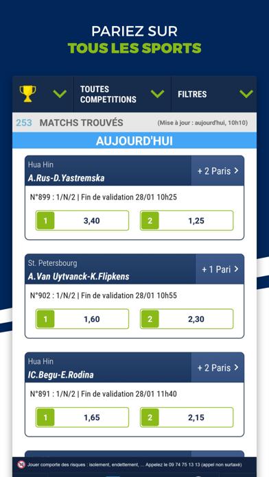 Screenshot #3 pour ParionsSport Point De Vente®