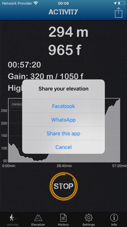 Altimeter Offline Pro screenshot-4