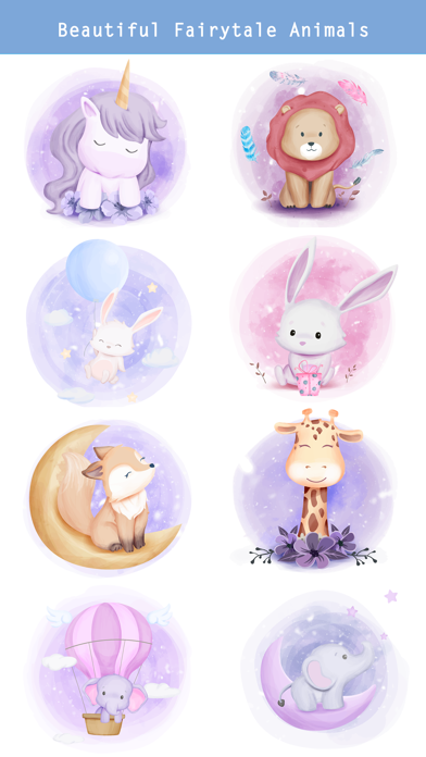 Fairytale Baby Animal Stickers screenshot 3