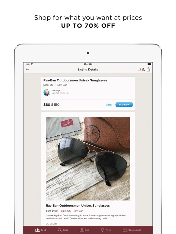 iPad Image of Poshmark