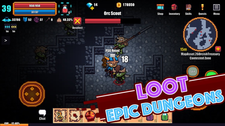 Pixel Knights Online - MMORPG screenshot-3