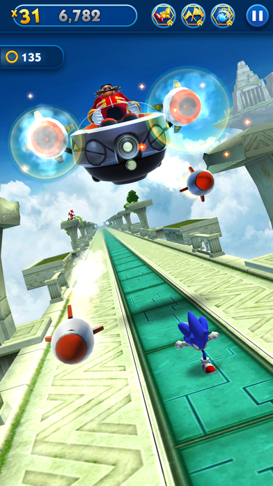 Sonic Dash for windows pc