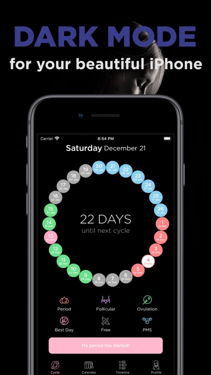 Ovia: Menstral Cycle Tracker