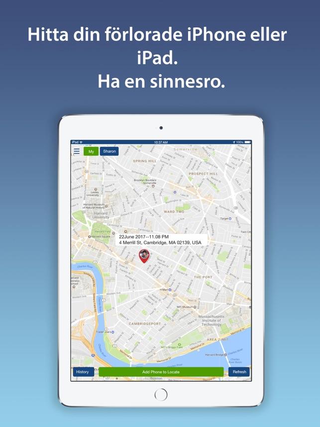 Spåra mobilnummer på karta