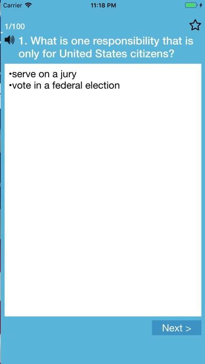 US Citizenship Test 2021 screenshot-3