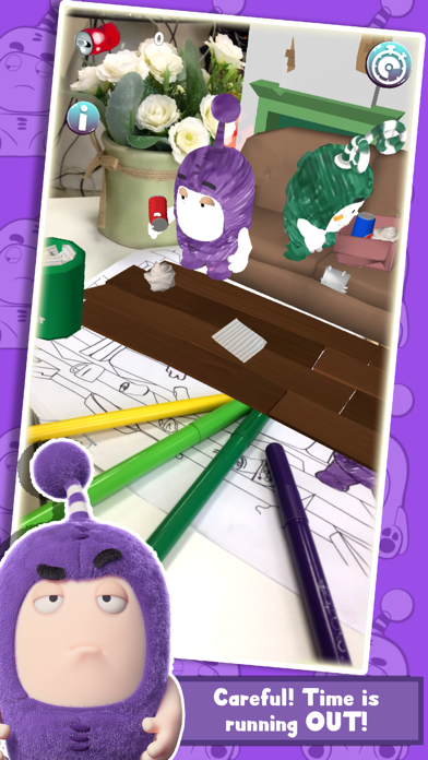 Oddbods Live Coloring (AR) screenshot two