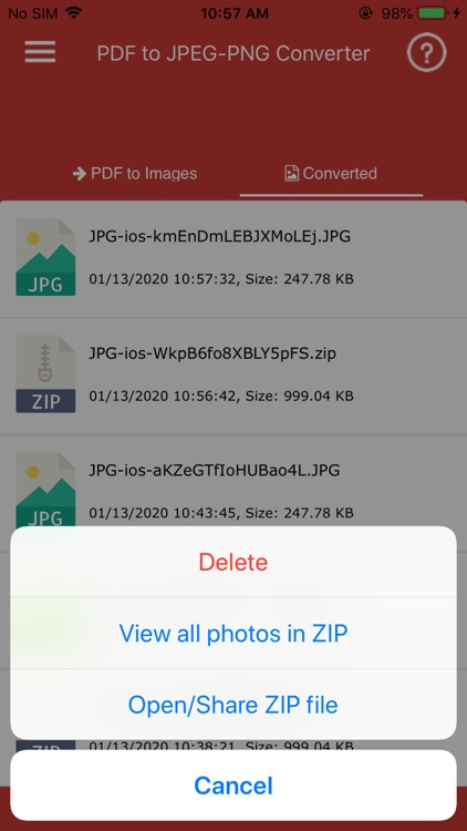 Convert PDF to JPG,PDF to PNG screenshot-3