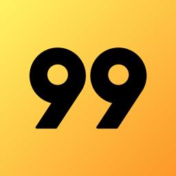 Ícone do app 99 Motorista Particular e táxi