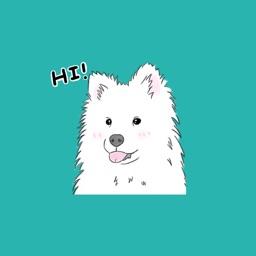 Samoyed - Sticker