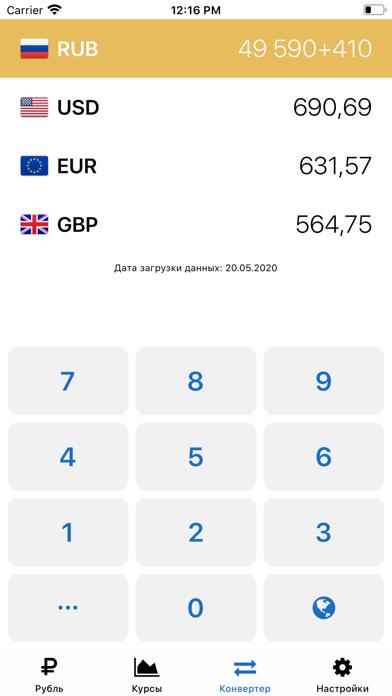 Рубль – Курсы валют онлайнСкриншоты 5