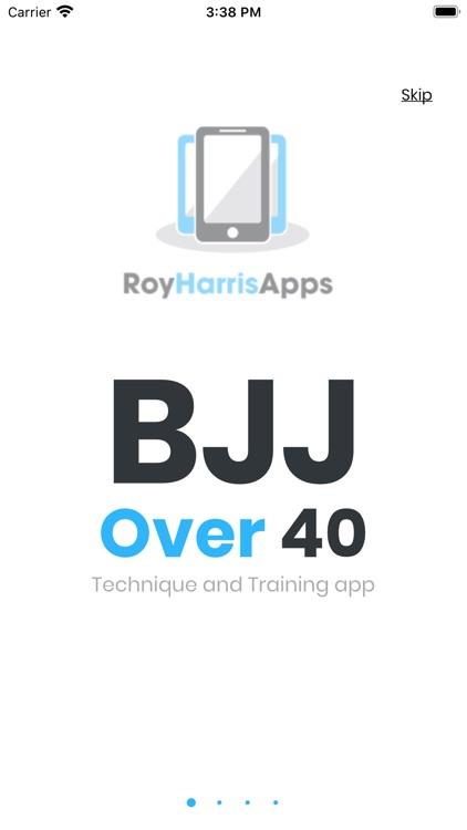 Roy Harris BJJ Over 40