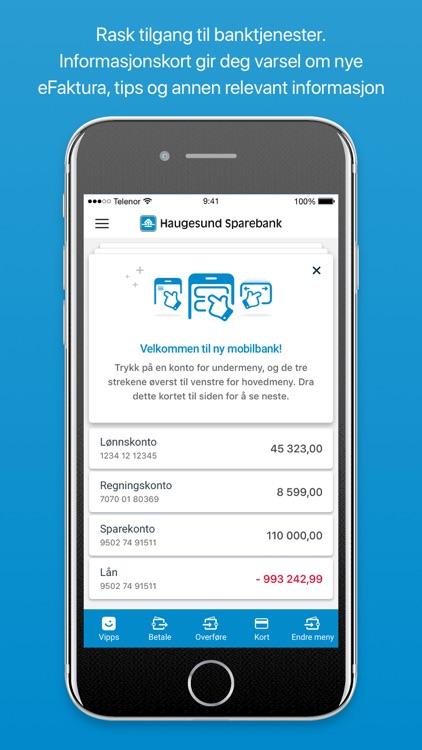 Haugesund Sparebank Mobilbank