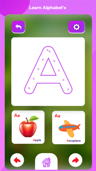 ABC Alphabet Letters LearningScreenshot of 2