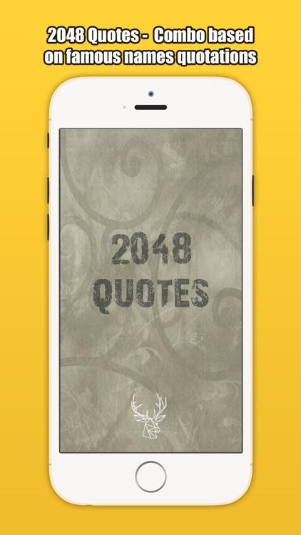 2048 Quotes screenshot-4