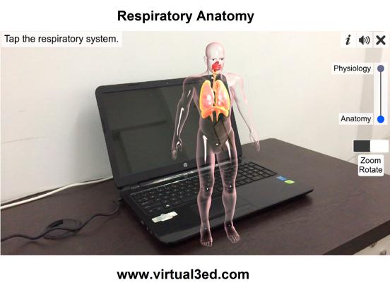 AR Respiratory system physiolo screenshot 8