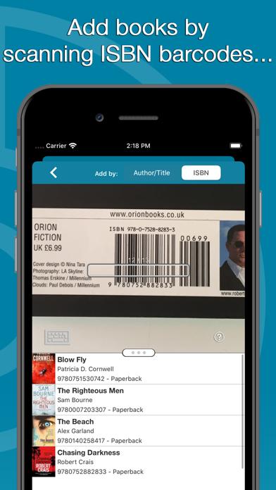 Screenshot #3 pour CLZ Books - Book Database
