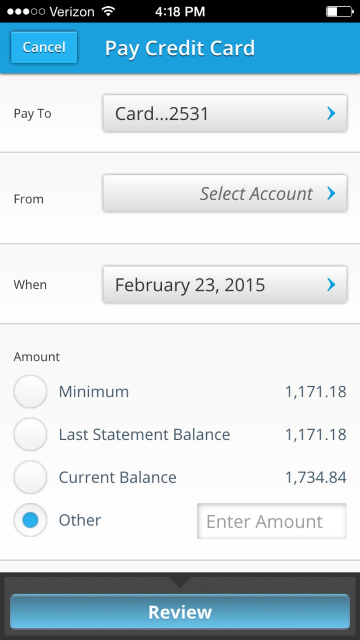 SVB Mobile Banking-Commercial Screenshot