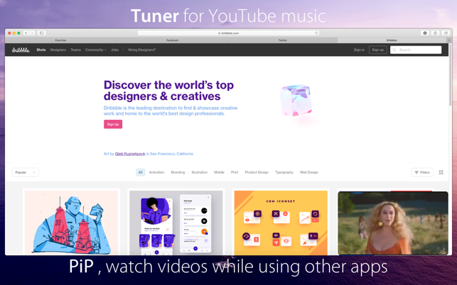 ‎Tuner for YouTube music Screenshot