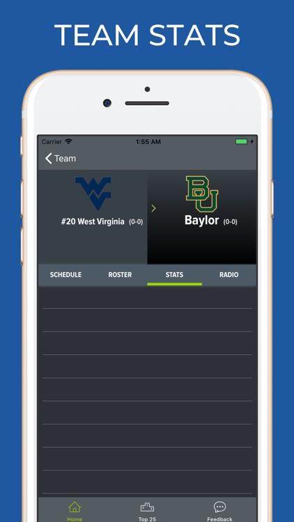 Baylor Football Schedules screenshot-3