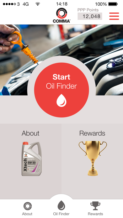 Comma Oil Finder screenshot one