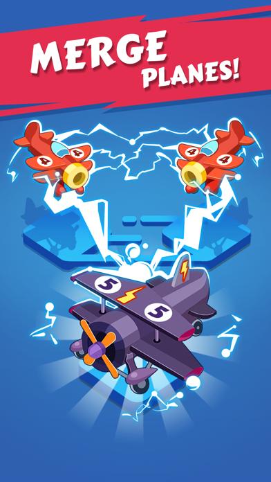 Merge Plane - Best Idle Game Screenshot on iOS