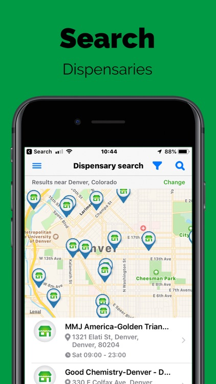 Greenery Map: Cannabis Search screenshot-8