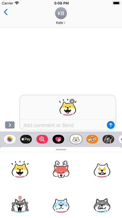 柴犬贴纸 screenshot-3