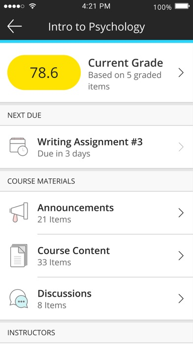 Screenshot for Blackboard in Sweden App Store